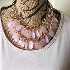 Jewelry - Pastel pink girly necklace